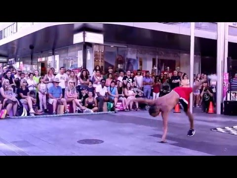 Beat The Streets - 13th March 2016 Rundle Mall, Adelaide, South Australia