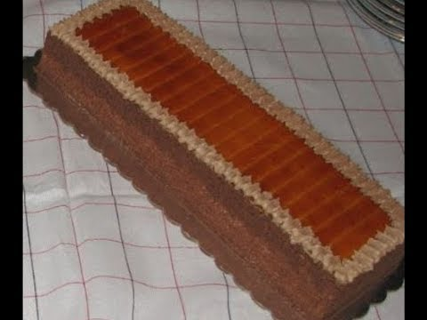 Doboš Torta - Dobos Torte Recipe