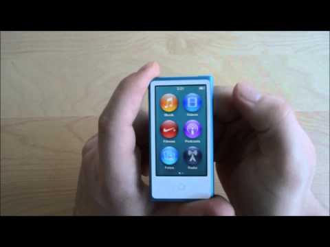 Apple iPod nano (7. Generation) - Unboxing & Review (deutsch)