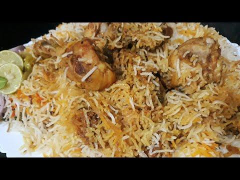 Hyderabadi Chicken Dum Biryani Delicious Recipe Eid Special