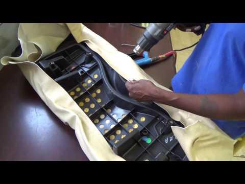 How to Recover Club Car Precedent Golf Cart Seats