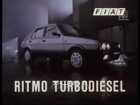 AD FIAT Ritmo Turbodiesel (Roccabella - lancio del disco) \ 1986 \ ita
