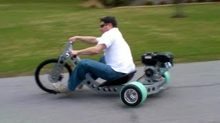Drift Trike Industrial Custom Motorized Drift Trike