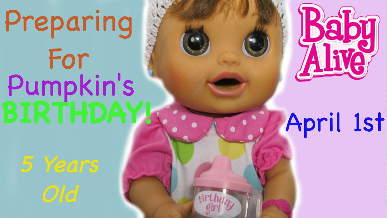 Toys R Us Birthday Party : Baby alive preparing for birthday party outing to toys r