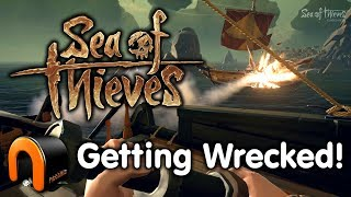 SEA OF THIEVES - GETTING WRECKED! PvP Ep #2