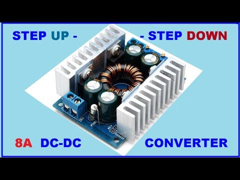 Tradtrust 300W DC-DC Converter Step-up Step-Down Buck Boost Power 20A Adjustable Charger