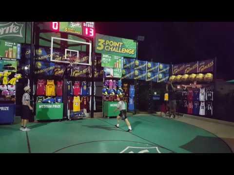 Perfect 3 Point Challenge 15 points @ Kings Island Mason, Ohio 5/30/2017 Gary Dowdell