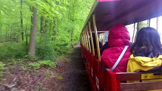 Train Ride at The Turtle Back Zoo West Orange, New Jersey USA :  May 12 2018 ---