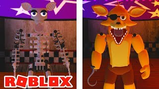 Come ottenere endoscheletro e Spring Foxy / Golden Foxy badge in Roblox FNAF RP Freddy and Friends