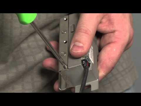 How To Install Electronic Door Lock Doovi