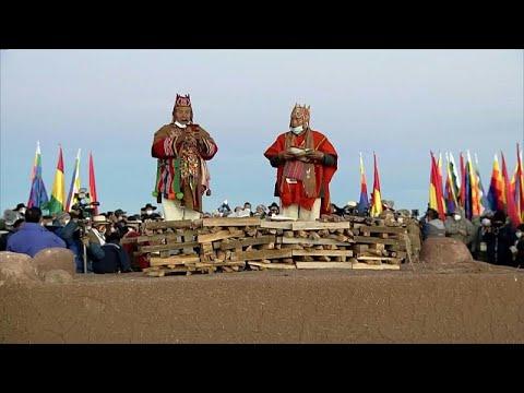 شاهد: كيف احتفل سكان بوليفيا الأصليون برأس السنة الجديدة للأنديز…  - نشر قبل 1 ساعة