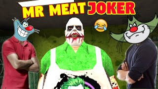 Bahut Hee Funny Joker 😂 | Mr Meat Joker With Oggy And Jack