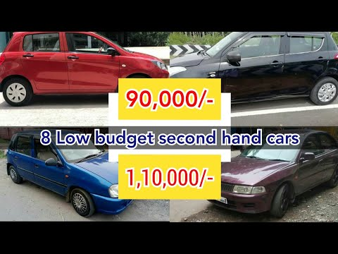 8 Second Hand Cars || Low Budget Cars || Used Cars For Sale In Tamil Nadu
