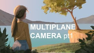 Multiplane camera TVpaint 10 (Part 1)(rus) exporting layers from Photoshop
