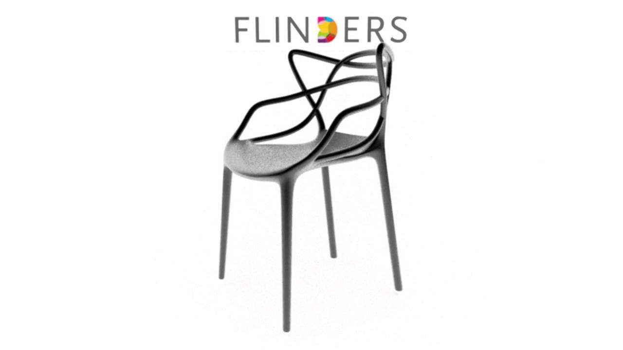 Philippe Starck Design Stoelen.Kartell Masters Stoel 360 Graden Video Flinders Design Youtube