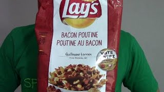 "Lay's Bacon Poutine Chips | ""do Us A Flavour"" Canada 2014"