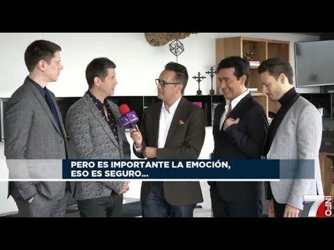 IL DIVO Interview INFO7 Noticias 18-4-2018