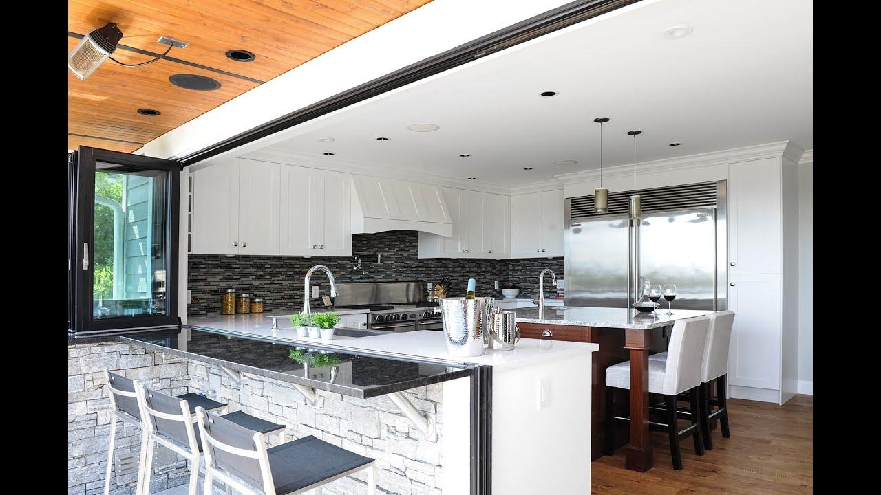 NanaWall Kitchen Transition & NanaWall Kitchen Transition - YouTube Pezcame.Com