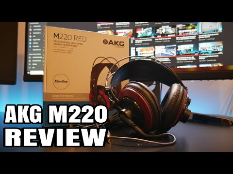 AKG M220 Professional Studio headphones REVIEW
