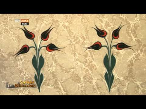 Ebru Atölyesi ile Alparslan Babaoğlu - Sanat Dünyamız - TRT Avaz