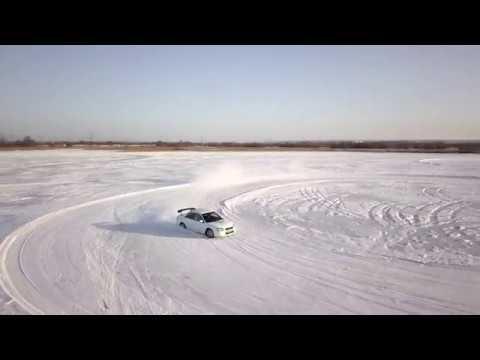 Субару на ледовом озере \ Subaru Ice Lake