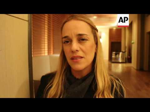 Tintori thanks Trump for standing up for Venezuela
