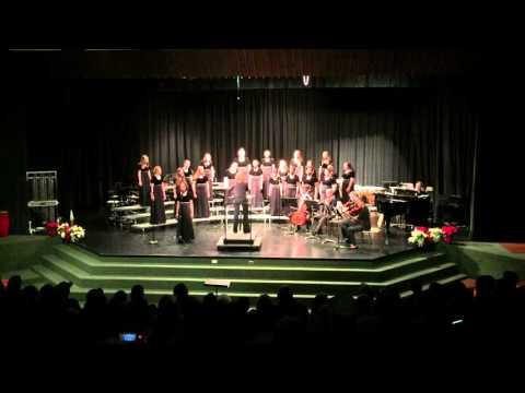 Eastern Randolph High School Chorus Winter Concert 2015: Honors Choral Ensemble