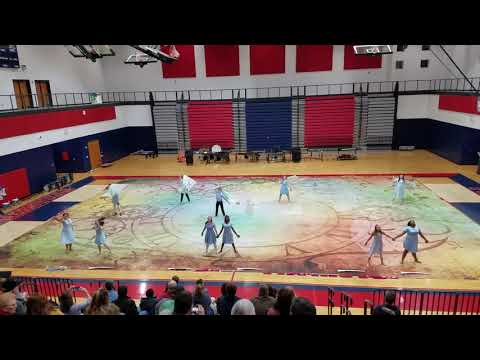 Powdersville High School JV Winter Guard 2018
