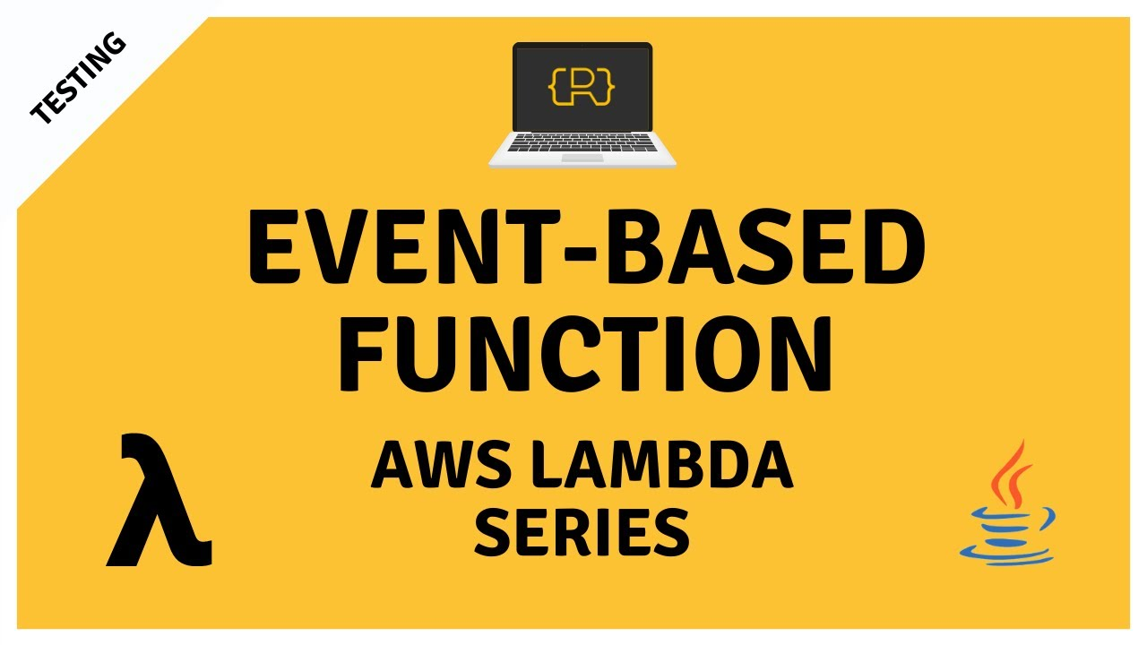 Event-based AWS Lambda Function with Java and Maven using S3 Events