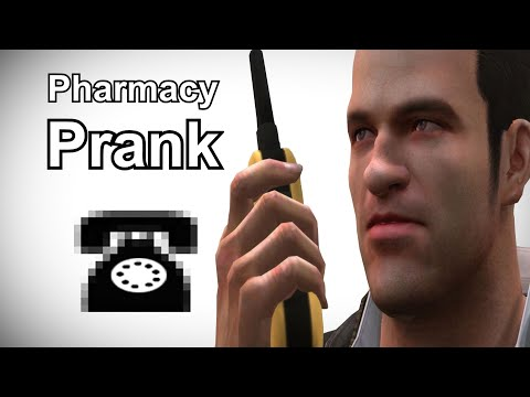 Frank West Calls Pharmacies for Zombrex - Dead Rising Prank Call