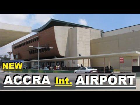 NEW ACCRA INTERNATIONAL  AIRPORT IN GHANA (KOTOKA INT. AIRPORT) IS VERY CLEAN .