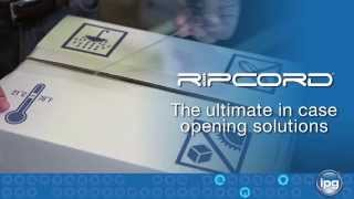 IPG RipCord - A Knife-Free Solution