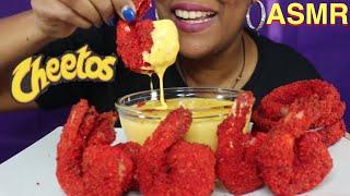ASMR: CHEESY HOT CHEETOS TIGER SHRIMP &amp ONION RINGS (NO TALKING) REAL EATING SOUNDS  KINA ASMR