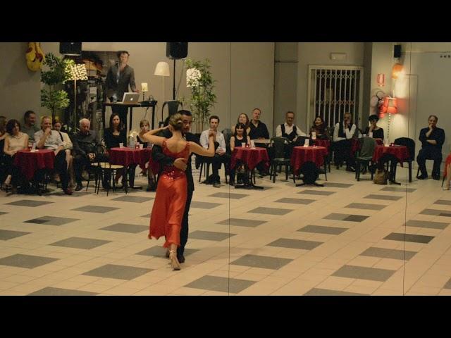 Victoria Scolari y Sebastian Fernandez 16marzo2019 Alla Milonga del Tango Dispari