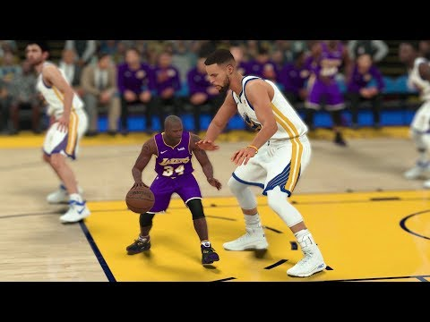 Tiny Shaquille O'Neal Vs Giant Stephen Curry In A 1v1! NBA 2K18 Challenge!