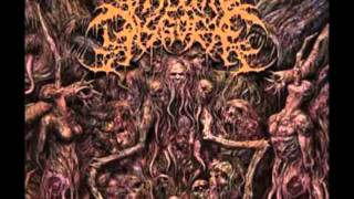 Visceral Disgorge - Ball-Gagged And Gutted (Lyrics)
