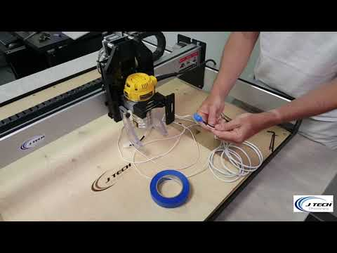 J Tech Photonics Shapeoko3 Laser Installation