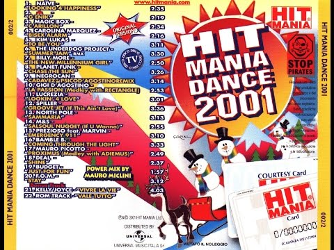 HIT MANIA DANCE 2001   by mdp'82