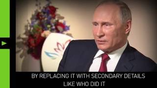 Let's talk content, not hackers' identity - Putin on DNC hack