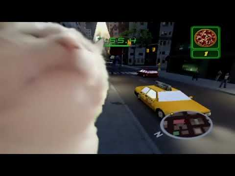 Cat Vibing to Pizza Time - Spiderman 2