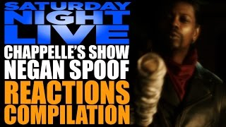 Saturday Night Live | Chappelle's Show Negan Spoof Reactions Compilation