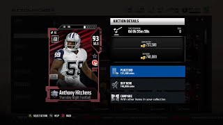 Madden 18 Ultimate Team New Thursday Night Football 93 Overall Alfred Morris and Anthony Hitchens