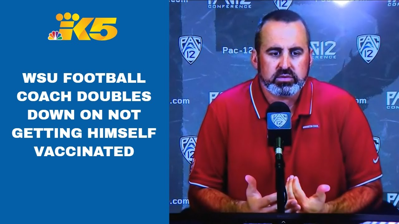 Washington State fires Nick Rolovich for refusing vaccine mandate