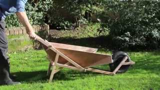 A Fold Up Wheelbarrow Yard Cart Design - Product Tank