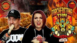 TORCHEDSTONE THAI CHALLENGE  | Brimstone And Torchbearer Sauces!