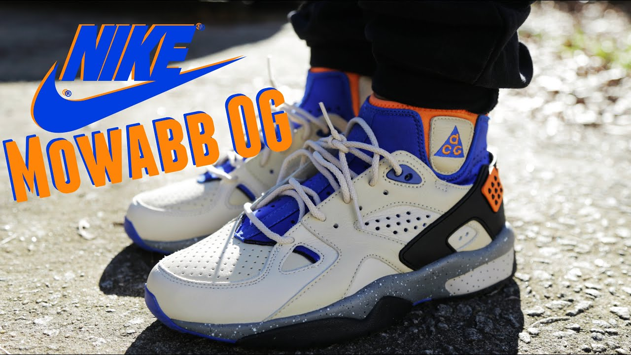 15f743356c6e Nike ACG Air Mowabb OG w  On Foot Review - YouTube