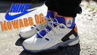 acero Goteo Deliberar  Nike ACG Air Mowabb OG w/ On Foot Review - YouTube