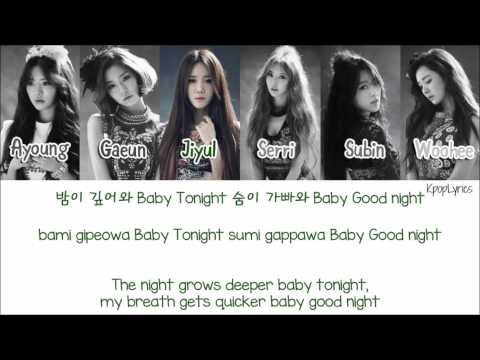 Dal Shabet (달샤벳) - Joker [Eng/Rom/Han] Picture + Color Coded HD