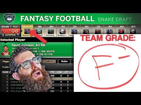 ESPN Fantasy Football Draft 2017 Fan League