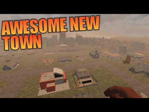 AWESOME NEW TOWN | Undead Legacy 7 Days to Die | Let's Play Gameplay Alpha 16 | S01E05